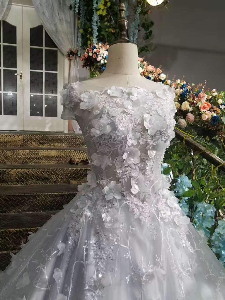 New Arrival Tulle Sister Dresses High Quality With Handmade Flowers