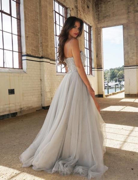 New Arrival A-Line Sweetheart Prom Dress Long Formal