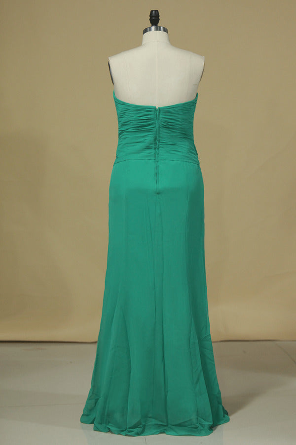 Sweetheart Sheath Bridesmaid Dress With P4NTM8F3