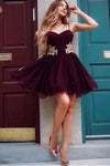 Wonderful Tulle Spaghetti Straps A-Line Homecoming PT1KN3YJ