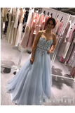 Sweatheart Embroidered Beads Tulle Ball Gown Prom STIPZBYPQH8