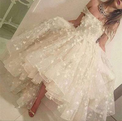 Off the shoulder Handmade Short Prom Dress Homecoming Dress