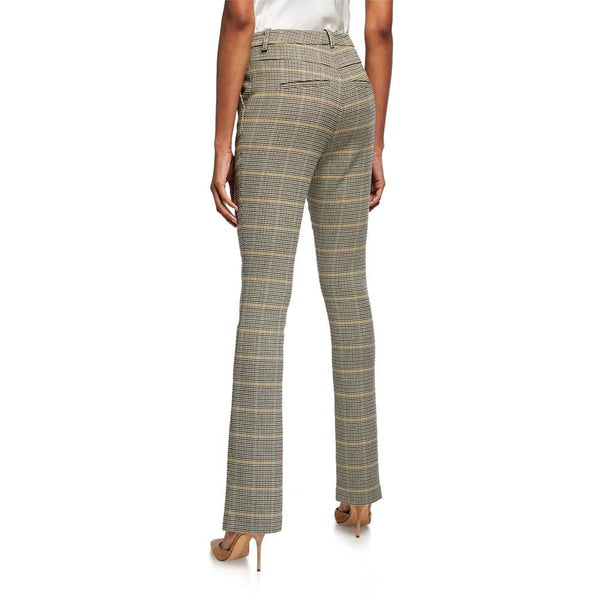 A.L.C. Edwin Glan Checked Slim Trousers Pants RRP$425 Zoom Boutique Store pants A.L.C. Edwin Glan Checked Slim Trousers Pants | Zoom Boutique