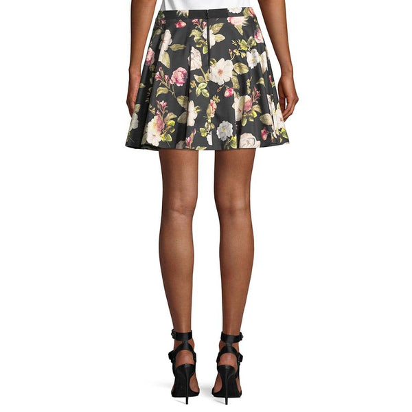 Alice + Olivia Blaise Trapeze Hem Full Flare Mini Skirt RRP$220 Zoom Boutique Store skirt Alice Olivia Blaise Trapeze Hem Full Flare Mini Skirt | Zoom Boutique