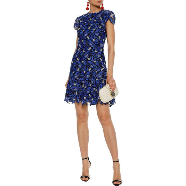Alice + Olivia Imani Lace Embroidered Fit & Flare Dress $440 0 Zoom Boutique Store dress