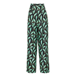 Diane von Furstenberg DVF High Waisted Wide Leg Pant RRP$428 - Zoom Boutique Store