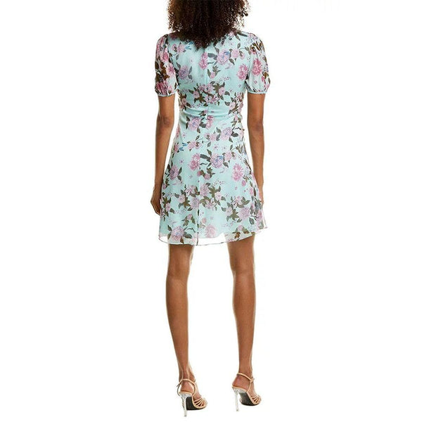 Diane von Furstenberg DVF Jillian Twist Floral Chiffon Silk Dress Zoom Boutique Store dress Diane von Furstenberg DVF Jillian Twist Silk Dress | Zoom Boutique