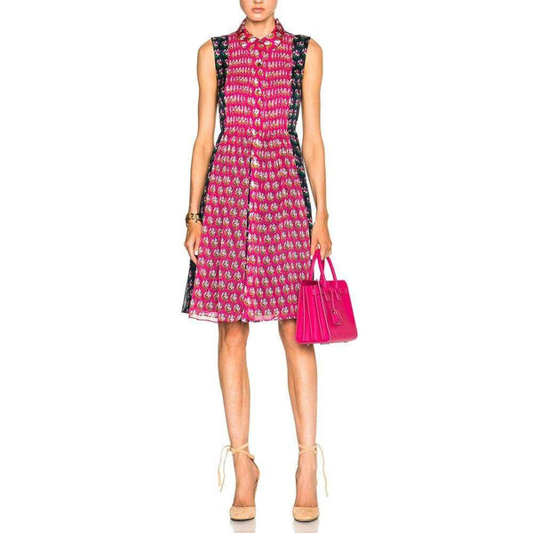 Diane von Furstenberg DVF Nieves Silk Zen Scarf A Line Shirt Dress Zoom Boutique Store dress Diane von Furstenberg DVF Nieves Silk Zen Scarf Dress | Zoom Boutique