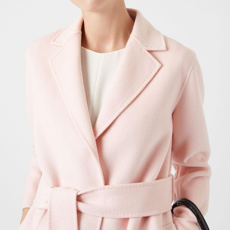 Hobbs Iris Double Face Notch Lapels Wool Blend Coat RRP$625 Zoom Boutique Store coat Hobbs Iris Double Face Notch Lapels Wool Blend Coat | Zoom Boutique