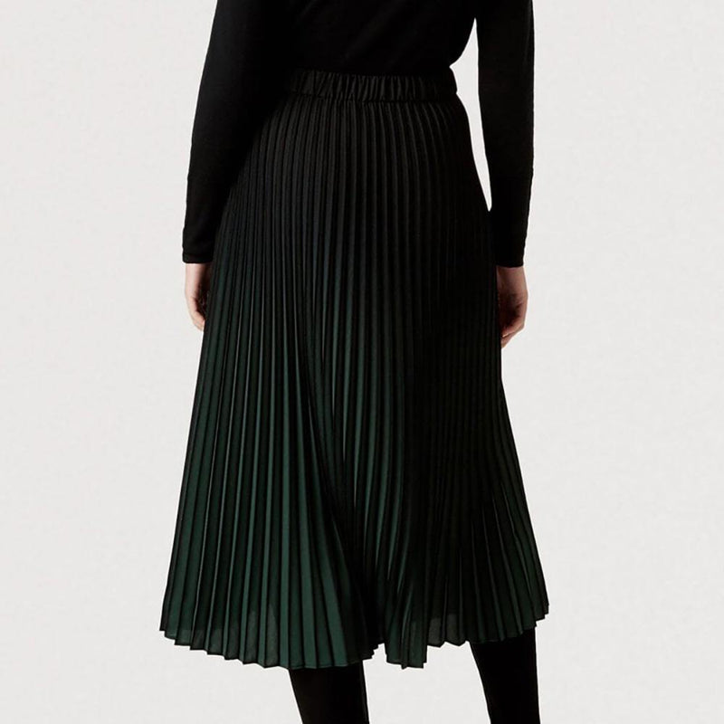 Hobbs Tasha Pleated Ombre High Waist Midi Skirt Zoom Boutique Store skirt Hobbs Tasha Pleated Ombre High Waist Midi Skirt | Zoom Boutique