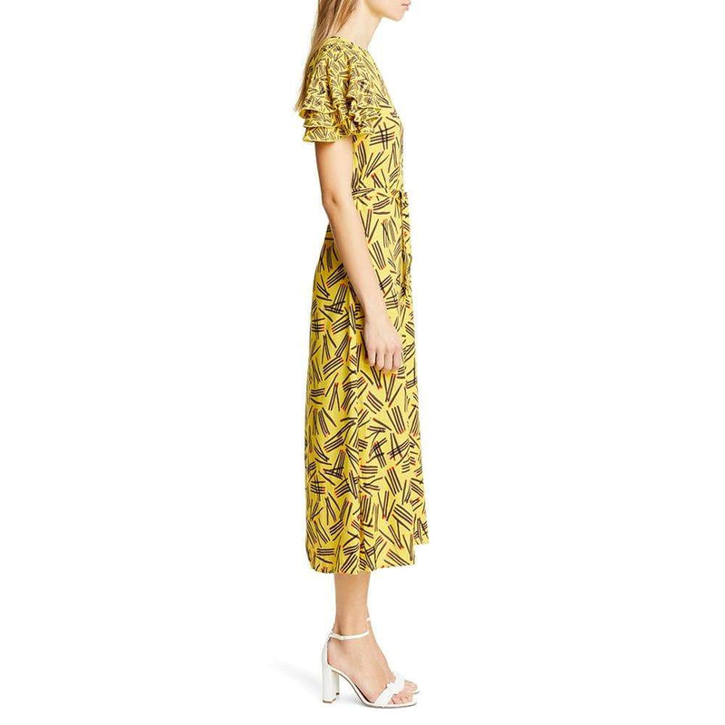 Kate Spade Matches Crepe Sheath Midi Dress $428 - Zoom Boutique Store