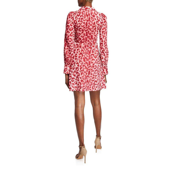 Kate Spade New York Panthera Fit & Flare Shirt Dress $378 Zoom Boutique Store dress