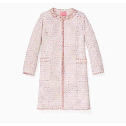 Kate Spade Open Front Mochi Tweed Coat Jacket RRP$798 - Zoom Boutique Store