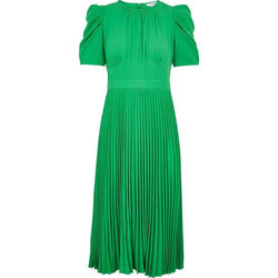 LK Bennett Avalon Plissee Shift Midi Kleid $ 370 - Zoom Boutique Store