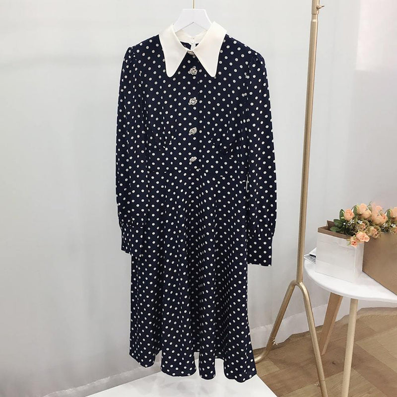 L.K. Bennett Mathilde Bow Print Puff Shoulder Silk Dress Zoom Boutique Store dress L.K.Bennett Mathilde Bow Print Puff Shoulder Silk Dress| Zoom Boutique