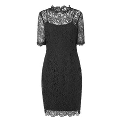 L. K.Bennett Sasha Sheer Floral Lace Shift Dress RRP$460 UK6 / Black Zoom Boutique Store dress L. K.Bennett Sasha Sheer Floral Lace Shift Dress | Zoom Boutique