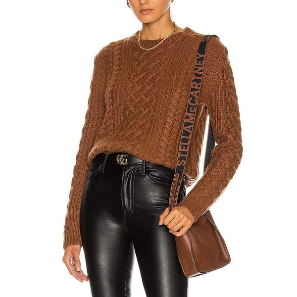 Nili Lotan Jodelle Cable Rib Knit Cashmere Sweater Jumper RRP$1239 Zoom Boutique Store sweater Nili Lotan Jodelle Cable Knit Cashmere Sweater Jumper | Zoom Boutique