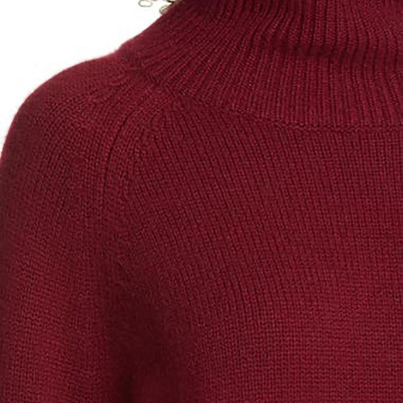 Nili Lotan Mariah Funnel Neck Cashmere Sweater Knit Jumper Zoom Boutique Store sweater Nili Lotan Mariah Funnel Neck Cashmere Sweater Jumper | Zoom Boutique