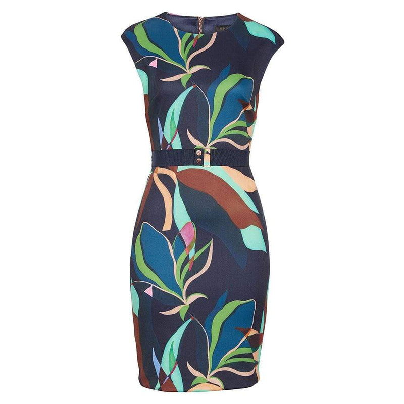 Ted Baker Adilyyn Supernatural Structure Bodycon Dress RRP$279 0 Zoom Boutique Store dress Ted Baker Adilyyn Supernatural Structure Bodycon Dress | Zoom Boutique