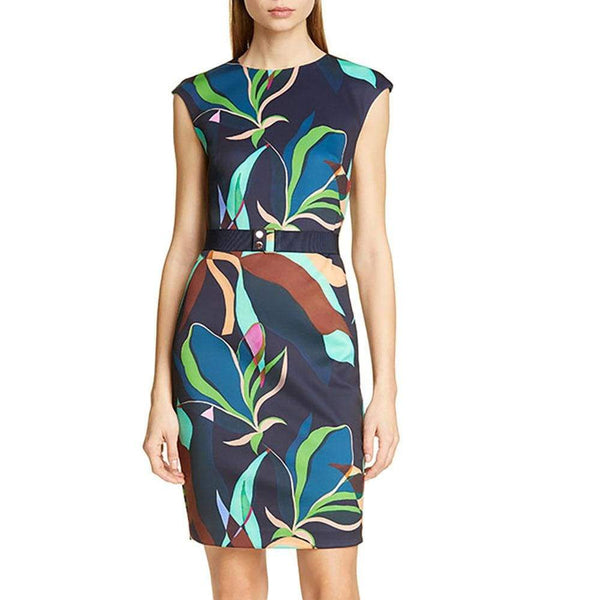 Ted Baker Adilyyn Supernatural Structure Bodycon Dress RRP$279 Zoom Boutique Store dress Ted Baker Adilyyn Supernatural Structure Bodycon Dress | Zoom Boutique