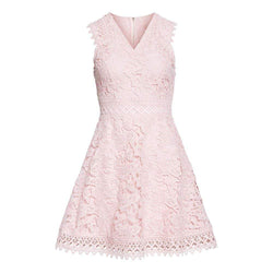 Ted Baker Beniel Fit & Flare Lace Party Dress RRP$395 - Zoom Boutique Store