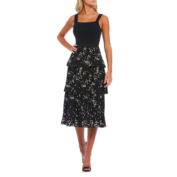 Ted Baker Betee Elderflower Tiered Pleated Midi Dress Zoom Boutique Store dress Ted Baker Betee Elderflower Tiered Pleated Midi Dress | Zoom Boutique