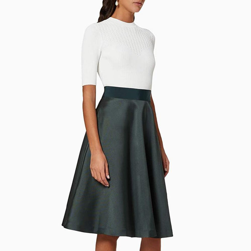 Ted Baker Betsiyy Full Skirt Mockable Fit & Flare Dress RRP$349 Zoom Boutique Store dress Ted Baker Betsiyy Full Skirt Mockable Fit & Flare Dress| Zoom Boutique