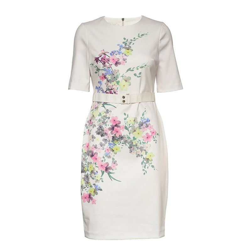 Ted Baker Camliaa Floral Jersey Bodycon Dress RRP$295 0 Zoom Boutique Store dress Ted Baker Camliaa Floral Jersey Bodycon Dress | Zoom Boutique