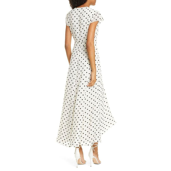 Ted Baker Cohine Side Tie Polka Dot Spot Wrap Midi Dress Zoom Boutique Store dress Ted Baker Cohine Side Tie Polka Dot Wrap Midi Dress | Zoom Boutique