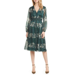 Ted Baker Delyla Meadow Sweep Midi Dress $329 - Zoom Boutique Store