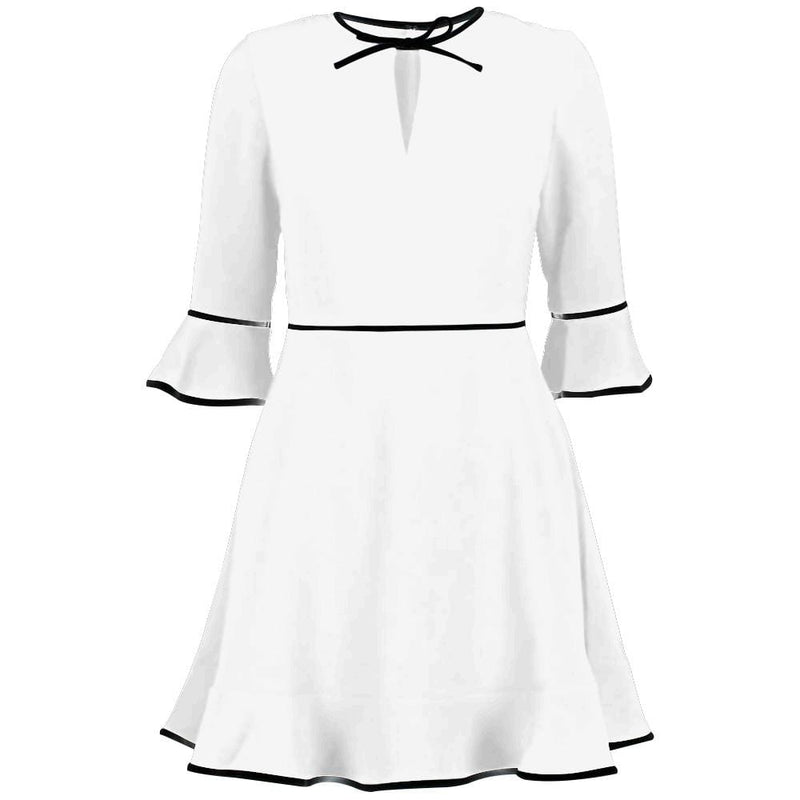 Ted Baker Dindy Bow Detail Skater Mini Dress RRP$267 - Zoom Boutique Store