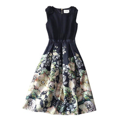 Ted Baker Felcity Gem Gardens Pleated Prom Dress $365 - Zoom Boutique Store