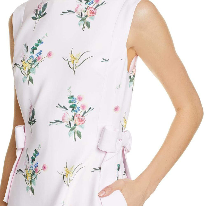 Ted Baker Fleuray Flourish Side Bow A Line Dress RRP$295 - Zoom Boutique Store