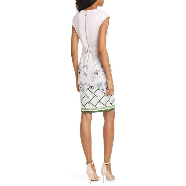 Ted Baker Hailey Everglade Cap Sleeve Bodycon Dress $279 Zoom Boutique Store dress