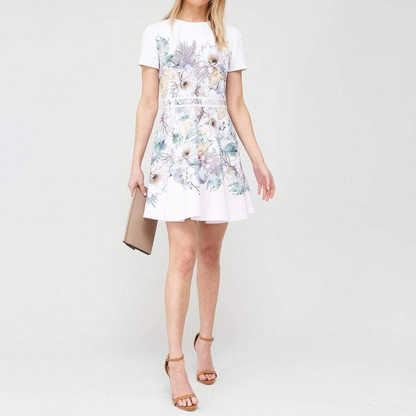 Ted Baker Haylinn Woodland Fit & Flare Skater Dress RRP$245 - Zoom Boutique Store