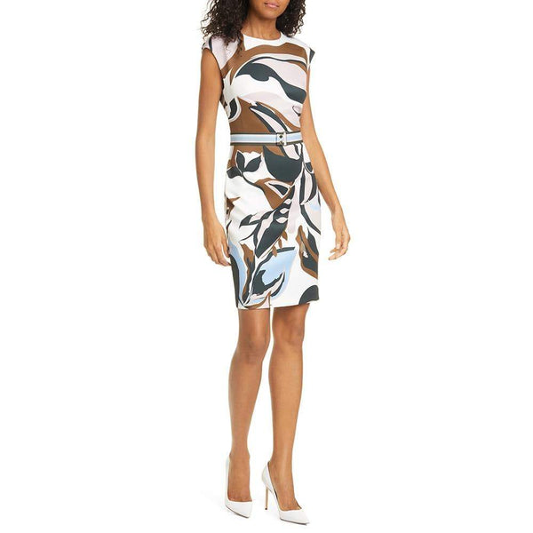 Ted Baker Liziiey Masquerade Print Sheath Dress $279 0 Zoom Boutique Store dress