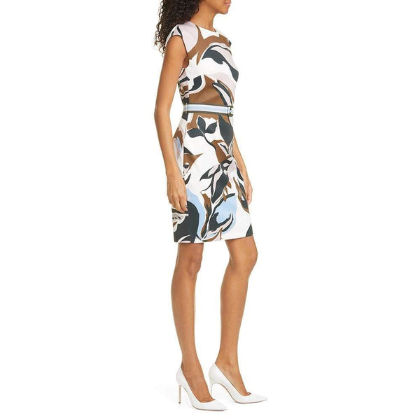 Ted Baker Liziiey Masquerade Print Sheath Dress $279 Zoom Boutique Store dress
