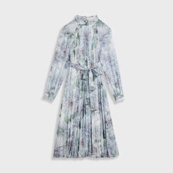 Ted Baker Luuluu Clove Pleated Chiffon Midi Dress RRP$395 0 Zoom Boutique Store dress Ted Baker Luuluu Clove Pleated Chiffon Midi Dress | Zoom Boutique