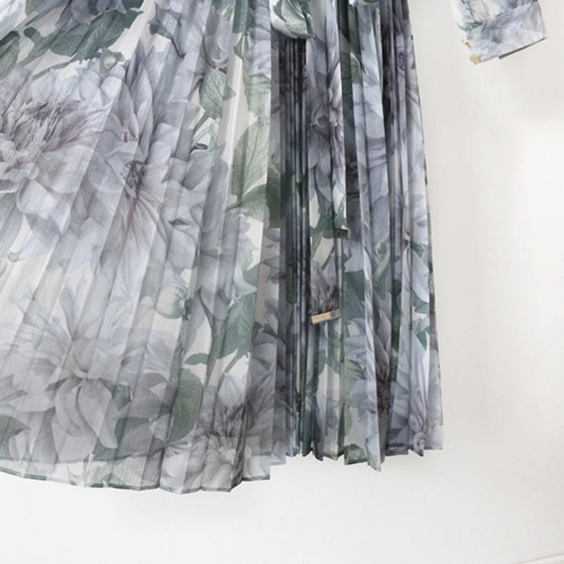 Ted Baker Luuluu Clove Pleated Chiffon Midi Dress RRP$395 Zoom Boutique Store dress Ted Baker Luuluu Clove Pleated Chiffon Midi Dress | Zoom Boutique