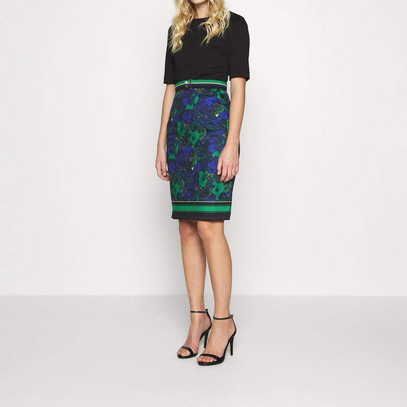 Ted Baker Lylia Stargaze Bodycon Shift Jersey Dress RRP$295 - Zoom Boutique Store