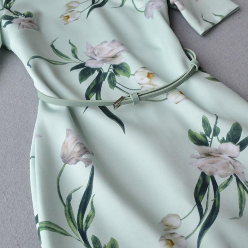 Ted Baker Magieyy Elderflower Fitted Bodycon Midi Dress RRP$267 Zoom Boutique Store dress