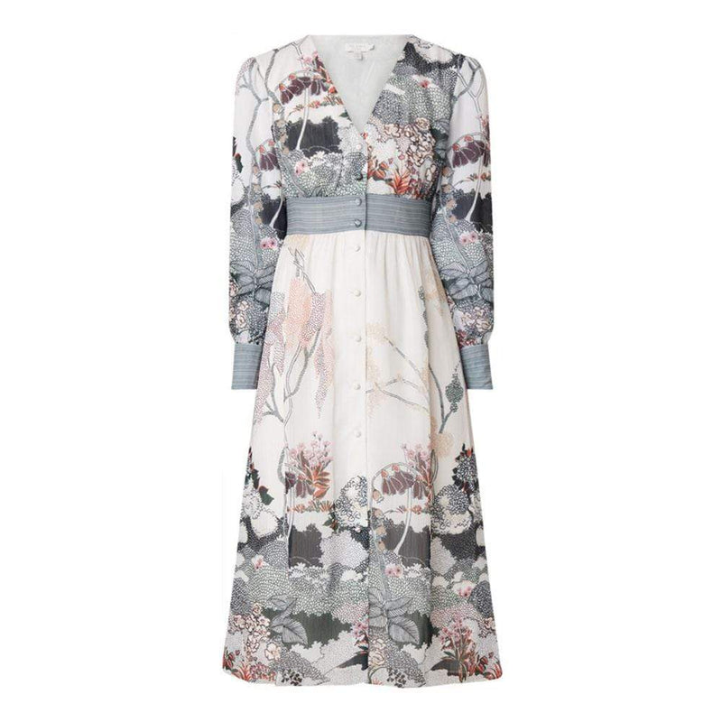 Ted Baker Nynina Willow Print Midi Dress RRP$298 0 Zoom Boutique Store dress Ted Baker Nynina Willow Print Midi Dress | Zoom Boutique