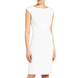 Ted Baker Pelagai Boat Neck Sheath Midi Dress RRP$379 Zoom Boutique Store dress Ted Baker Pelagai Boat Neck Sheath Midi Dress | Zoom Boutique