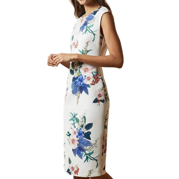 Ted Baker Sharley Jamboree Bodycon Sheath Dress $279 Zoom Boutique Store dress