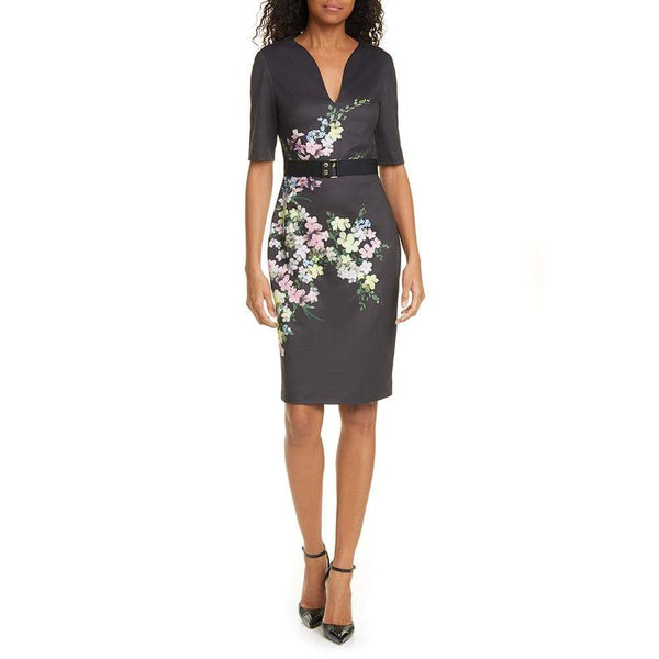 Ted Baker Soliaa Pergola Floral Bodycon Dress $295 0 Zoom Boutique Store dress