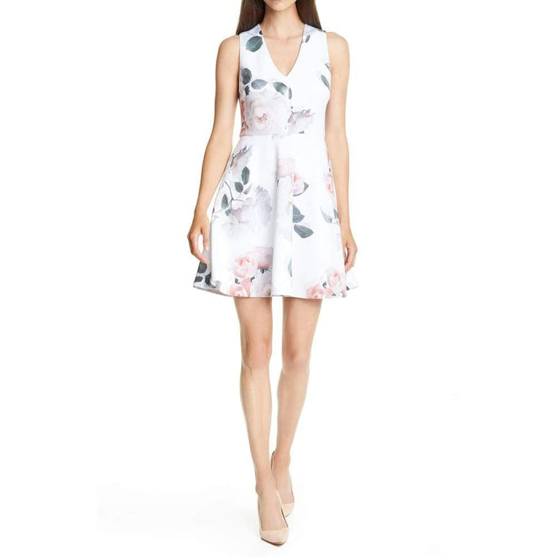 Ted Baker Twiggi Bouquet Floral Skater Dress Zoom Boutique Store dress Ted Baker Twiggi Bouquet Floral Skater Dress | Zoom Boutique