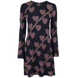 Ted Baker Uzeniaa Joyous Fluted Sleeve Knit Dress RRP$279 - Zoom Boutique Store