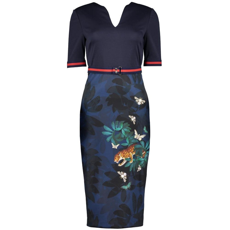 Ted Baker Yalila Houdiini Bodycon Sheath Dress $315 - Zoom Boutique Store
