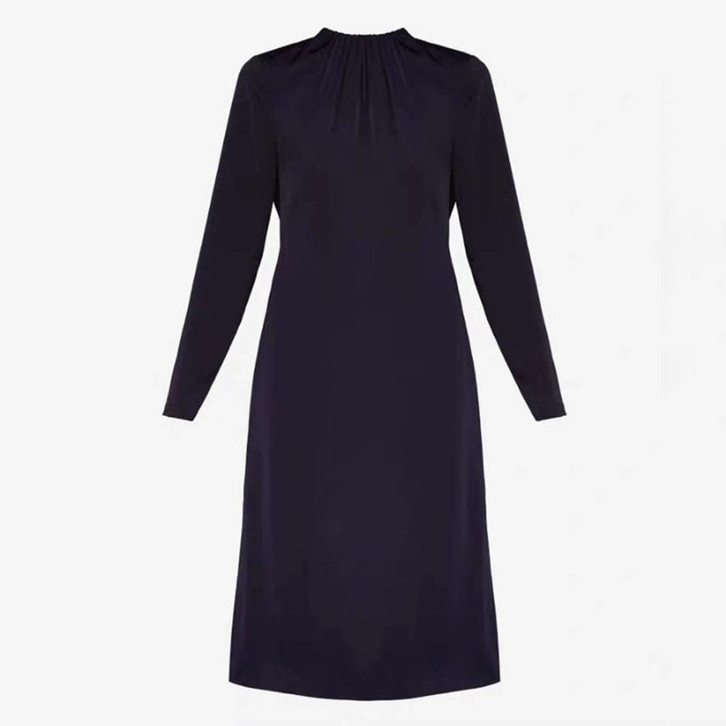Ted Baker Zip Detail Side Slit Pleated Shift Dress RRP$315 1 Zoom Boutique Store dress Ted Baker Zip Detail Side Slit Pleated Shift Dress | Zoom Boutique