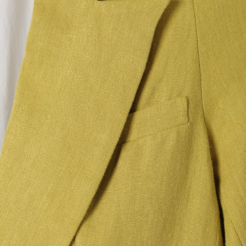 Tibi Bonded Wesson Linen Sculpted Sleeve Jacket Blazer Zoom Boutique Store blazer Tibi Bonded Wesson Linen Sculpted Sleeve Jacket Blazer | Zoom Boutique